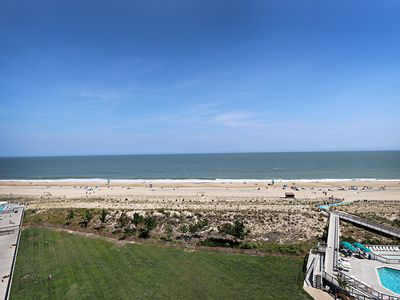 Photo for 805N: 2BR Sea Colony 2BR Oceanfront condo! Private beach, pools, tennis ...