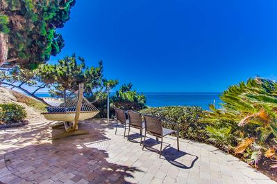 Majestic Oceanfront View from Front Patio Deck Area