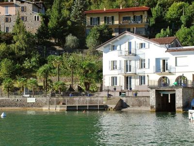 Photo for 1BR Apartment Vacation Rental in Osteno-claino, Lombardia