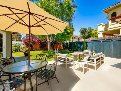 Photo for 10% OFF AUG - Cute & Sunny Home w/ Large Private Yard - Steps from the Beach