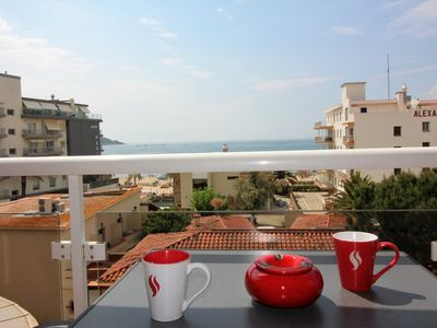 Photo for Estanding good, well equipped, located just 20 meters from the beach in Santa Margarita.