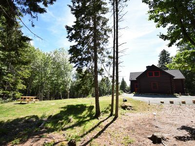 Photo for 40 Private Acres w/ Trails, Stream & Deeded Beach Access at Rocky Woods Cabin