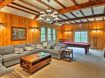 Photo for Spacious Home Adjacent to Mt. Snow w/ Game Room!