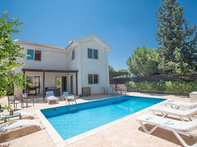 Photo for Villa Mandy, Modern 3BDR Protaras Villa with Pool, Short Walk to all Amenities