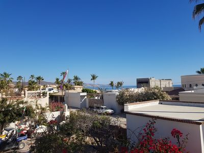 Photo for Comfy Baja home, 1 block from the sandy beach in SPA Buena Vista