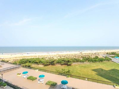 Photo for D507: Renovated 2BR Sea Colony oceanfront condo! Private beach, pools, tennis ...
