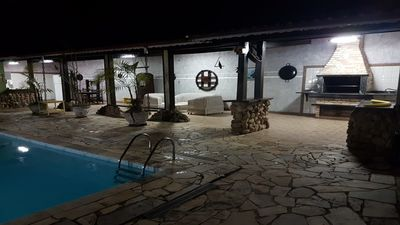 Photo for Beautiful House with Pool in Massaguaçu