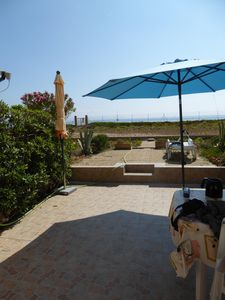 Photo for Studio with large terrace and stunning sea views