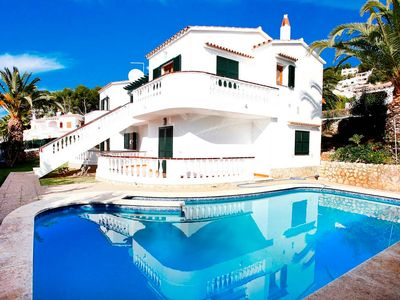 Photo for Villa Vidal is a great 3 bedroom 2 bathroom Son Bou villa close to the beach