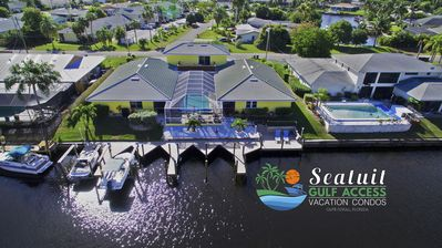 Photo for Amazing GULF ACCESS # A 3 bedroom w/ Heated pool and Boat Slip!