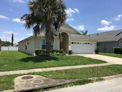 Photo for Stunning 5 bedroom house with pool close to Disney