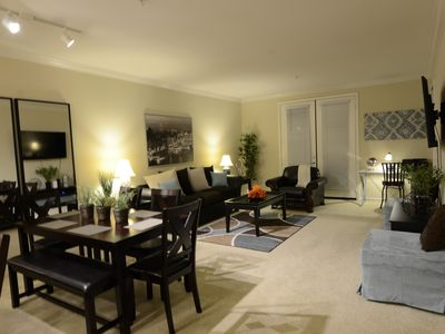 Photo for Luxury Living - Spacious Private 1 Bed, 1 Bath that Sleeps 4