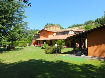 Photo for Villa for 10 people with free Wi-Fi access, swimming pool and small restaurant. Near Castelfranco di