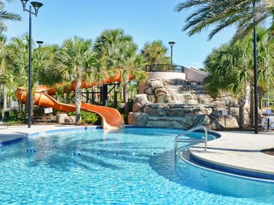 Photo for Brand New! 10 Miles from DISNEY! Private Pool & Jacuzzi, Lazy River & Clubhouse, Free WiFi!!