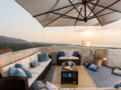 Photo for Luxury Villa Galateia at Falassarna, near the Sea