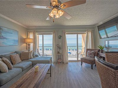 Photo for 21- Best Views of the BEACH from the balcony of this beautiful condo! Coral Reef Club