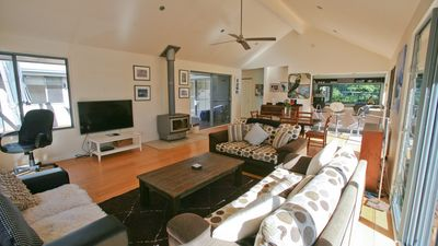 Photo for BARRAGGA BAY BEACH HOUSE - 12 Amaroo Avenue- Private, stylish, by the beach