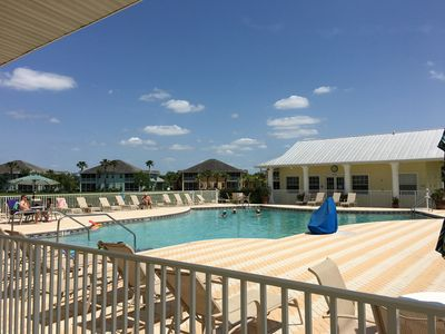 Photo for Steps from the pool, clubhouse, fitness center, tennis and pickleball