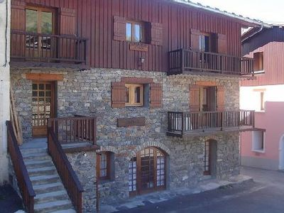 Apartment '' Swiss pine '' located in the village of St Martin de Belleville