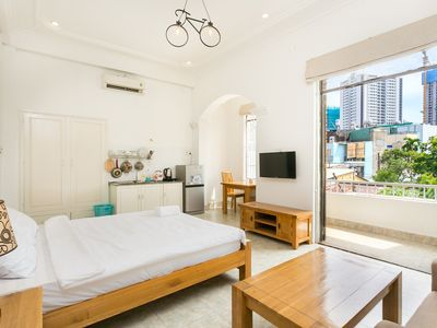 Photo for Private Room w/ Balcony, 5 to Ben Thanh Market
