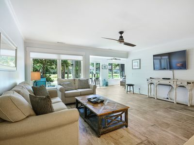 Photo for 9 Lighthouse Rd, #3~ On Golf Course & Walk to Sea Pines Beach Club