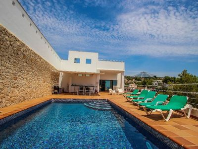 Photo for Elena Baladrar - sea view villa with private pool in Benissa