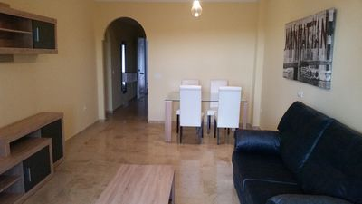 Photo for apartment with jadin near the beach and Gibraltar
