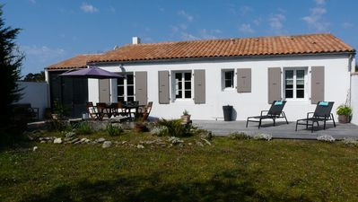 """Photo for House Ste Marie de Re """"Les Grenettes"""" 100m from the sea - Between vineyards and beach"""