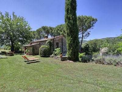 Photo for Vacation home Il Lamone  in Ambra, Tuscany Chianti - 6 persons, 2 bedrooms