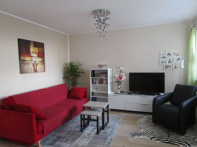 Photo for Müritz Rast, a super great family-friendly 4 person apartment on the lake with WLAN