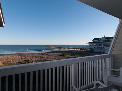 Photo for Take in breathtaking views at this oceanfront town home with boat slip!