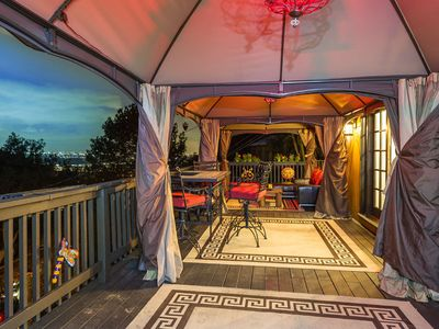 Photo for Gorgeous Deck Views in Legendary Laurel Canyon in the Hollywood Hills