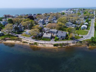 Photo for NEW LISTING! Waterfront home w/lake views-walk to Falmouth Heights Beaches