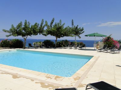 Photo for sea ​​view house pool 6 pers