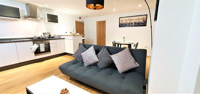 Photo for Ultra Modern, Super Comfortable, 2 Bed Apartment Northampton Town Centre