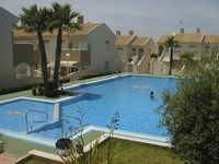 Cute little spanish house , close to amenities, Lidl a short walk away , fantastic pool area,
