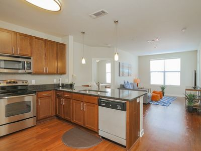 Photo for SoBe Nashville 2 BD|2 BA in The Gulch with Parking - Apartment