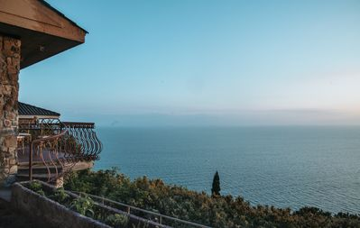 Photo for Sunset villa on the cliff, Talamone