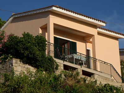 Photo for Holiday House in the ' Parco Naturale' with wonderful sea view