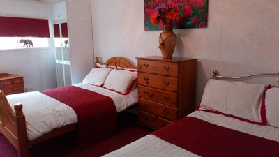 Photo for Two Bedroomed Apartment in Beach Front Hotel
