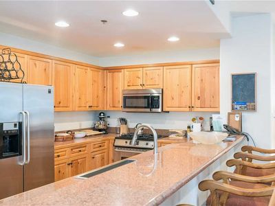 Photo for Wooded 2-Bedroom With Heated Pool, Hot Tub Access