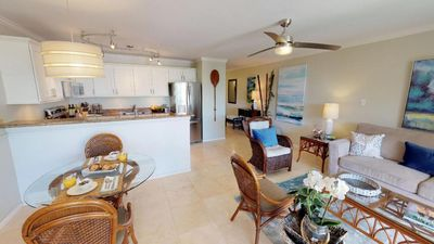 "Photo for ""Your Sweet Maui Retreat"" Remodeled 1 Bedroom steps from Kihei's best beaches."
