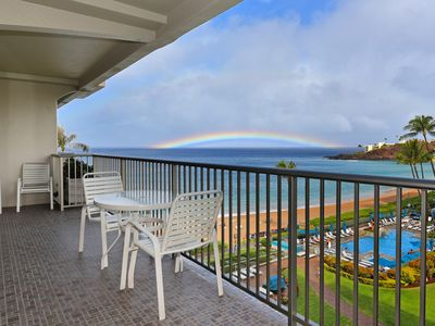 Photo for The Whaler on Kaanapali Beach Vacation Rental:  1 bedroom, 1 bath Ocean View