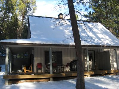 Photo for Pet Friendly Circle 4 Cabin And People Friendly As Well
