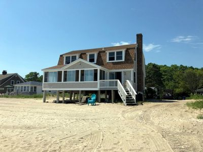 Photo for OCEANFRONT; FAMILY-FRIENDLY HOME WITH PRIVATE BEACH