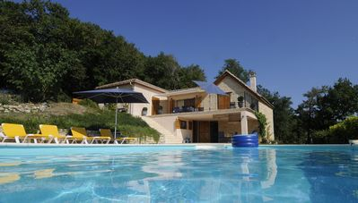 Photo for Style and style, this beautiful holiday home with lounge and private pool