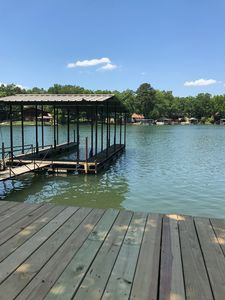 Photo for Lake Hamilton Lakefront Home with Covered Boatslip. New Furniture. Remodeled