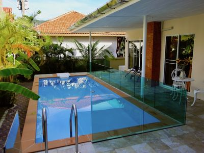 Photo for Pool villa, walk to beach, restaurants & 7Eleven