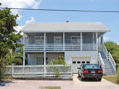 Photo for Delightful duplex located just across the street from the beach and pier