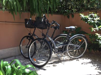 Photo for Villa Borghese-Fantastic Location-Very Large and Quiet Apartment w/2 bicycles